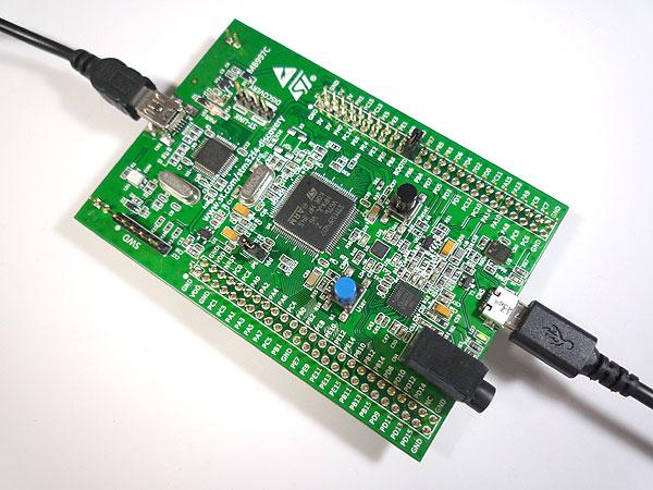 DFUで簡単インストール。STM32F4 Discovery board で MicroPythonをはじめる
