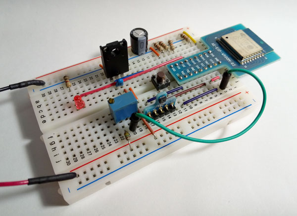 乾電池で本当に1年間動作するIoTセンサ ESP8266
